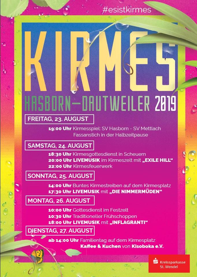 Hasborn-Dautweiler Kirmes