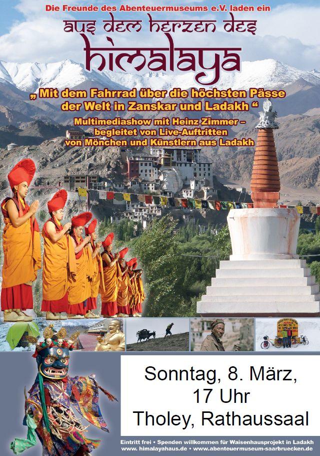 Aus dem Herzen des Himalayas, Bilder, Tänze und Gesänge  Heinz Zimmer von den Freunden des Abtenteuermuseums und Künstler aus Ladakh
