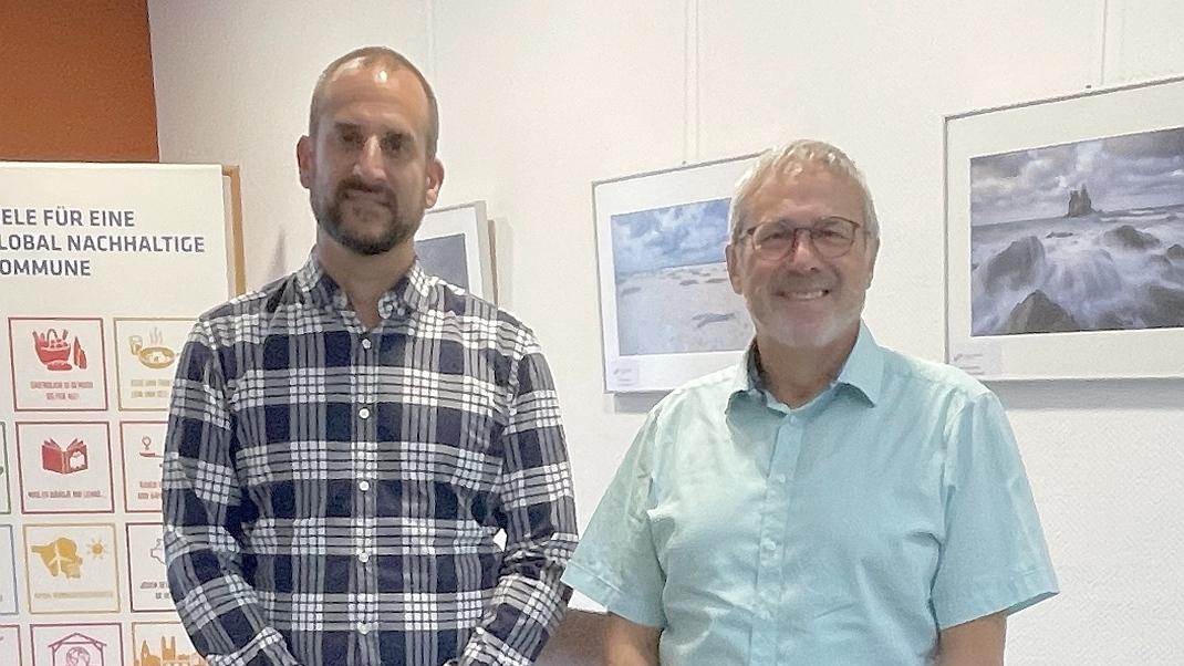"""Henning Heinz ist neuer Schulleiter der Gemeinschaftsschule """"Schaumberg"""" in Theley."""